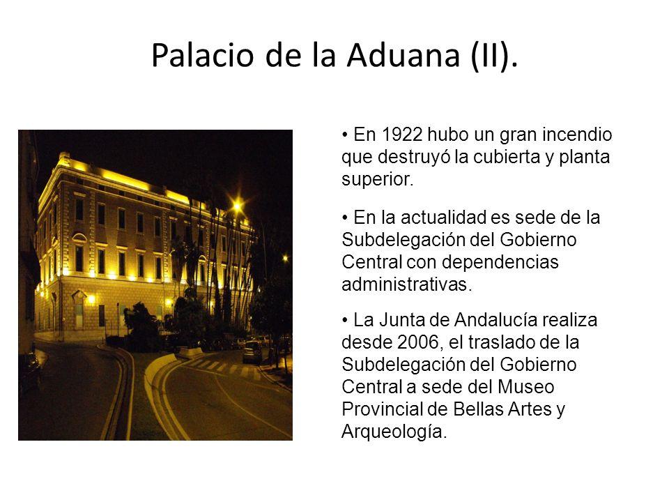 Palacio de la Aduana (II).
