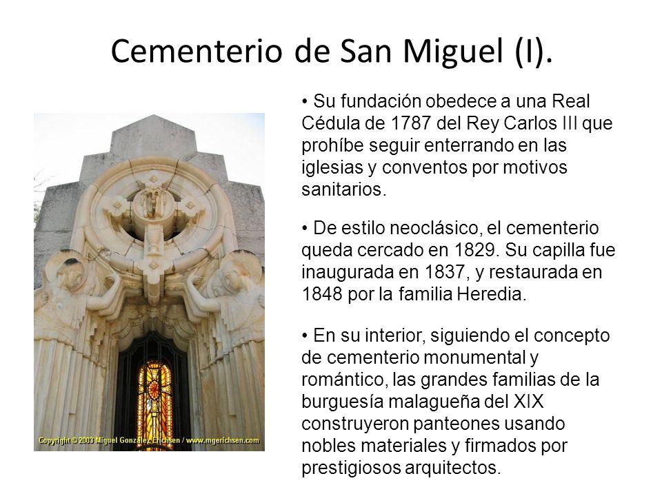 Cementerio de San Miguel (I).
