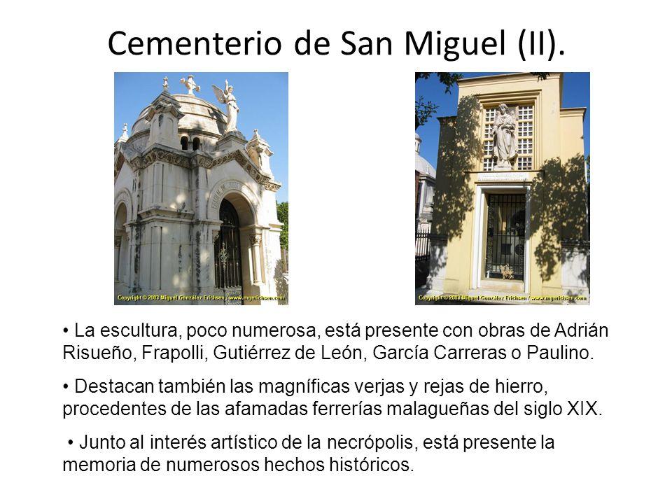 Cementerio de San Miguel (II).