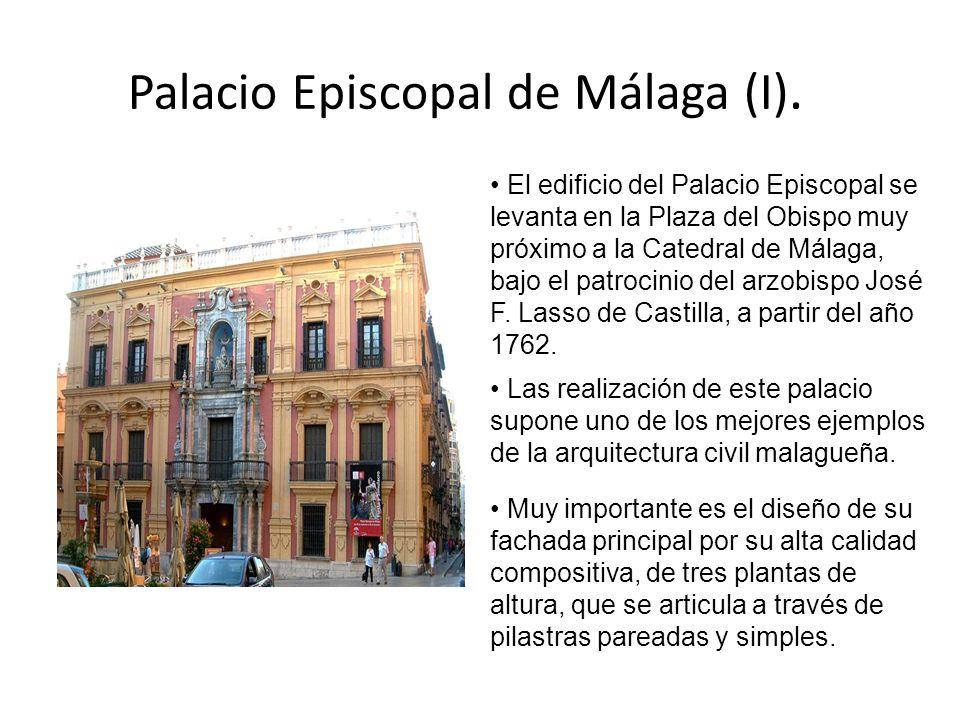 Palacio Episcopal de Málaga (I).