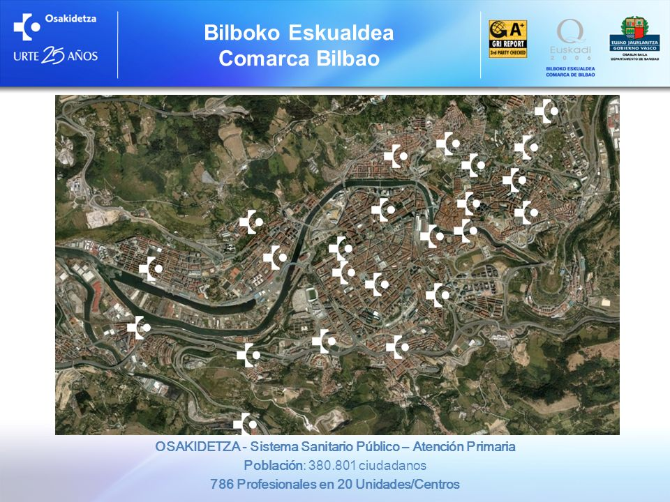 Bilboko Eskualdea Comarca Bilbao