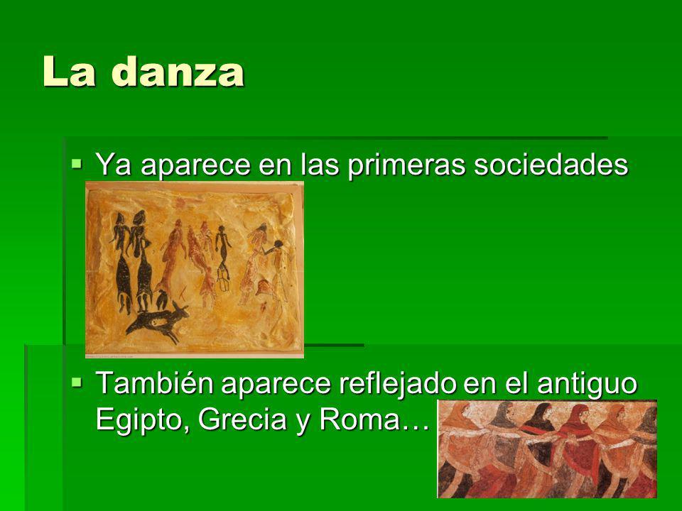 La danza Ya aparece en las primeras sociedades