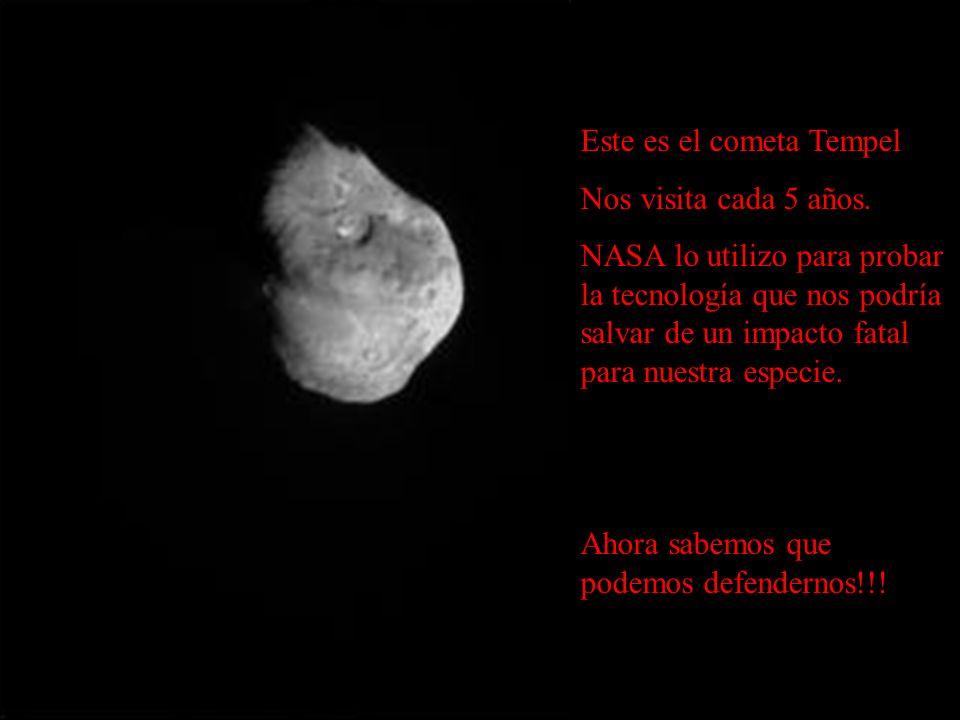 Este es el cometa Tempel