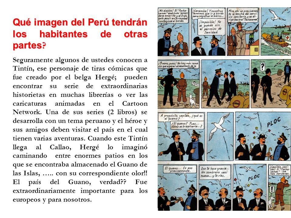 Qué imagen del Perú tendrán los habitantes de otras partes