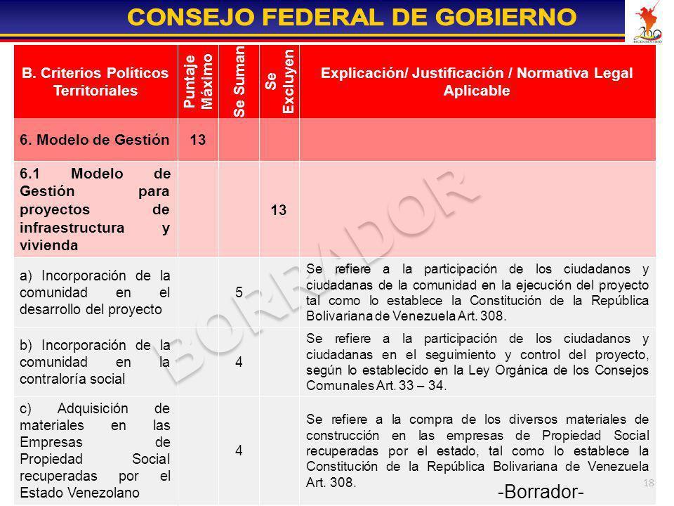 Se refiere a la participación de los ciudadanos y ciudadanas en el seguimiento y control del proyecto, según lo establecido en la Ley Orgánica de los Consejos Comunales Art. 33 – 34.