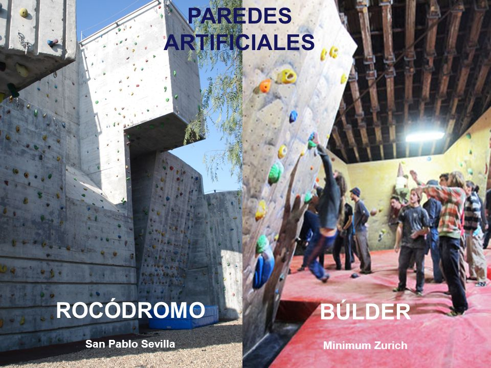 PAREDES ARTIFICIALES ROCÓDROMO BÚLDER