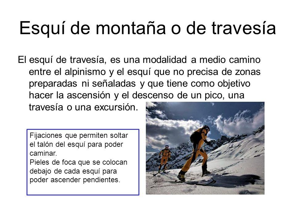 Esquí de montaña o de travesía