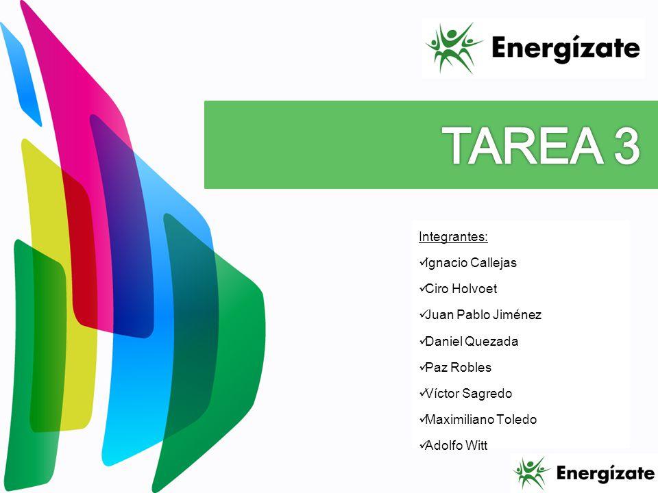 TAREA 3 Integrantes: Ignacio Callejas Ciro Holvoet Juan Pablo Jiménez