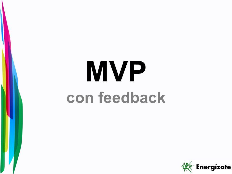 MVP con feedback