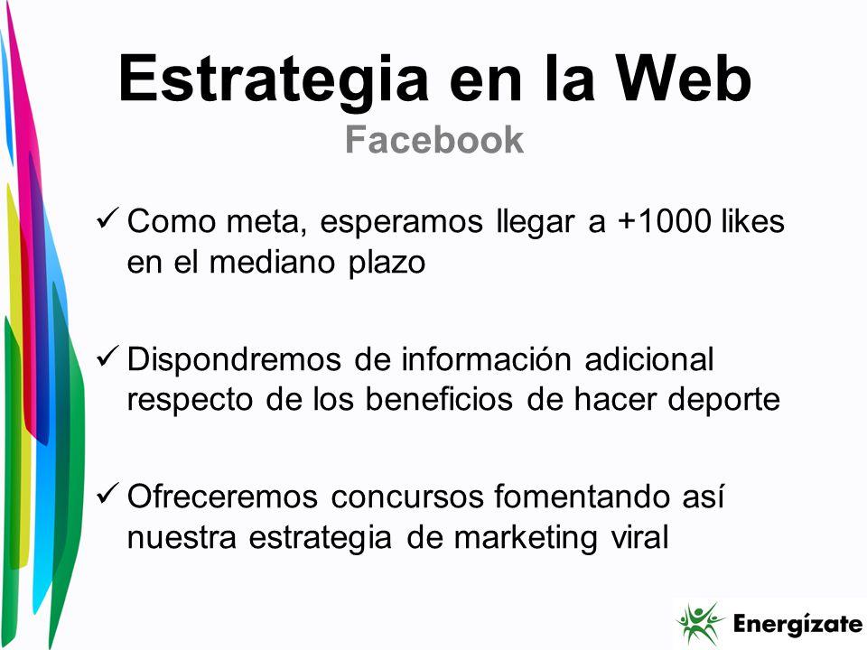 Estrategia en la Web Facebook