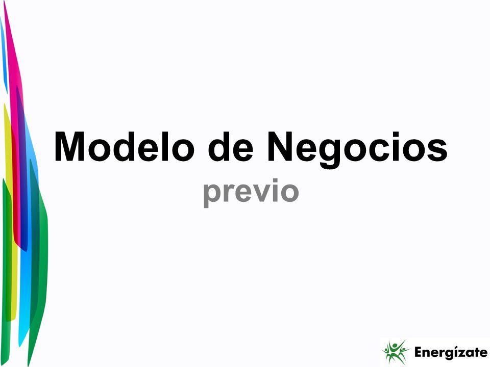 Modelo de Negocios previo