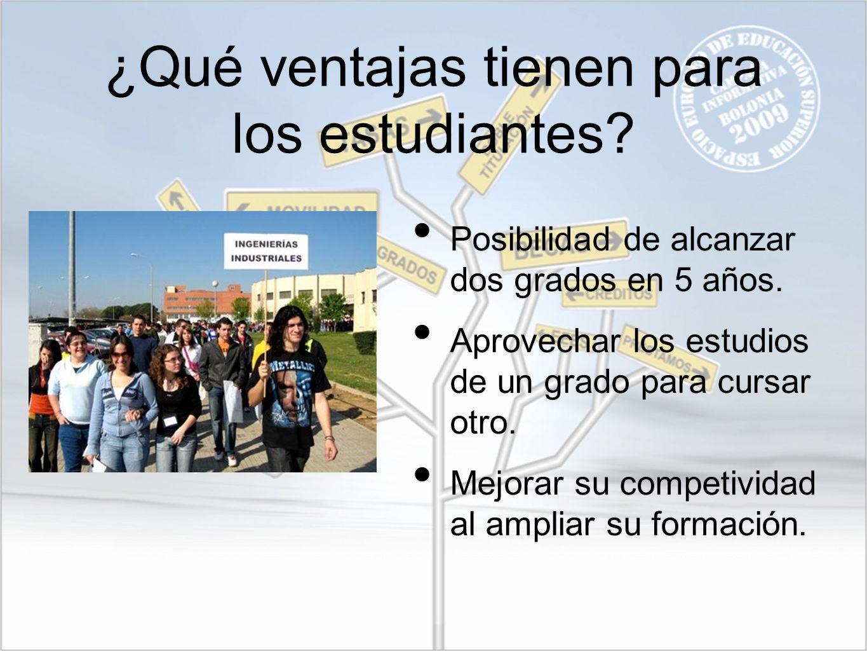 ¿Qué ventajas tienen para los estudiantes
