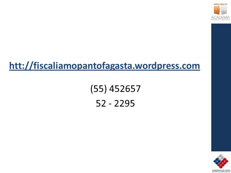 htt://fiscaliamopantofagasta.wordpress.com (55) 452657 52 - 2295