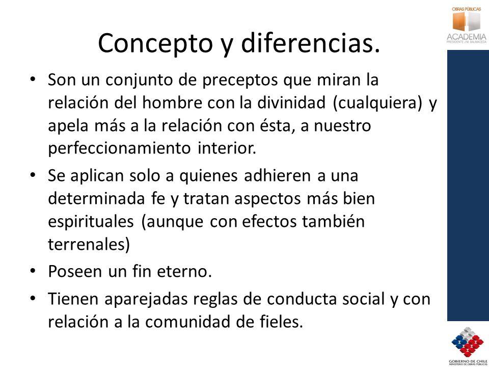 Concepto y diferencias.
