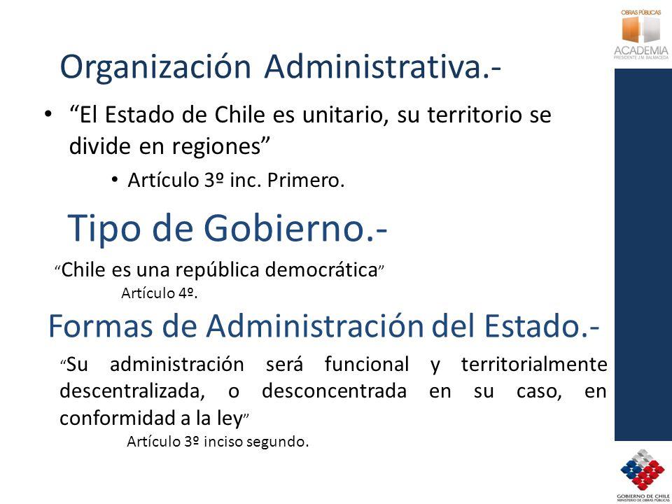 Organización Administrativa.-
