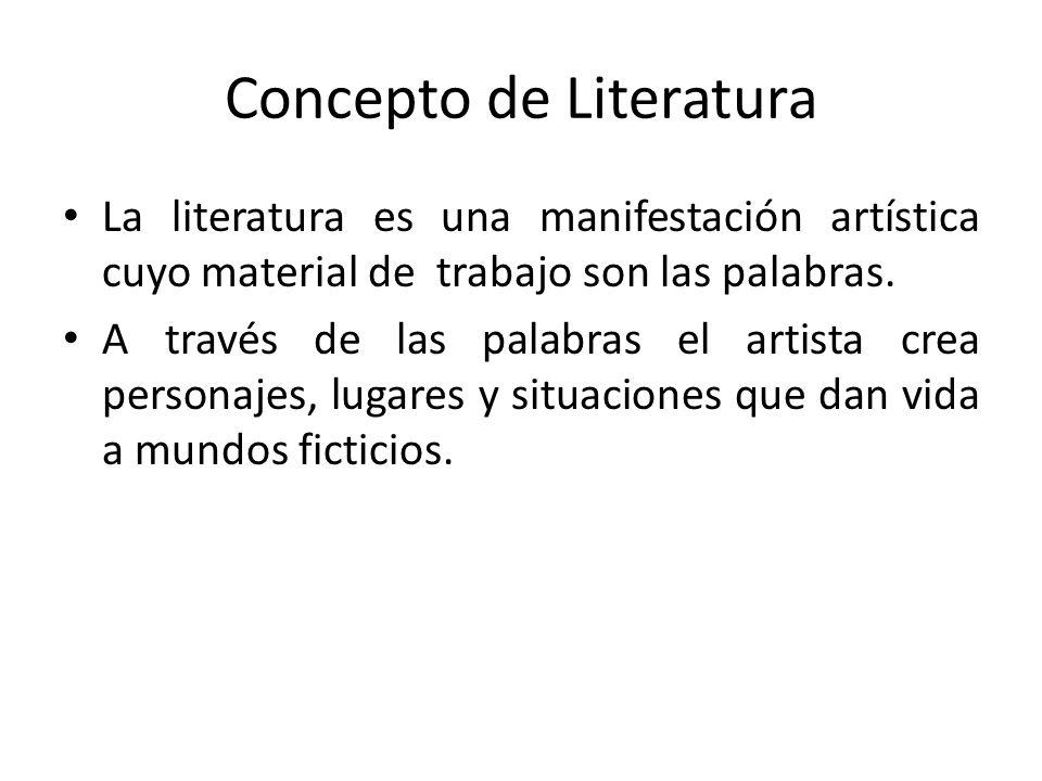 Concepto de Literatura