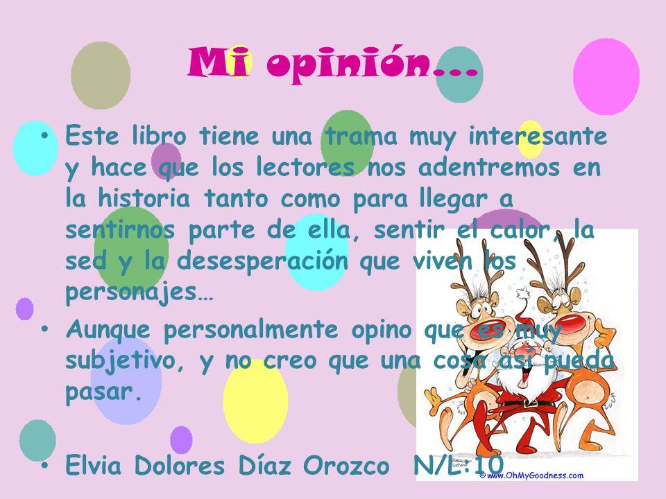 Mi opinión…
