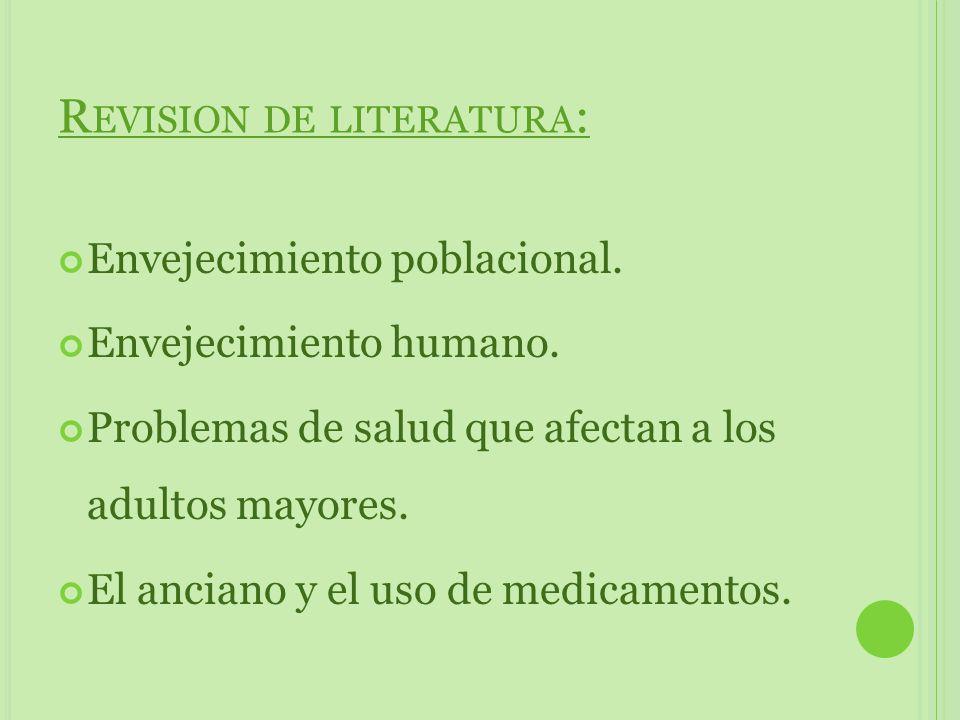Revision de literatura: