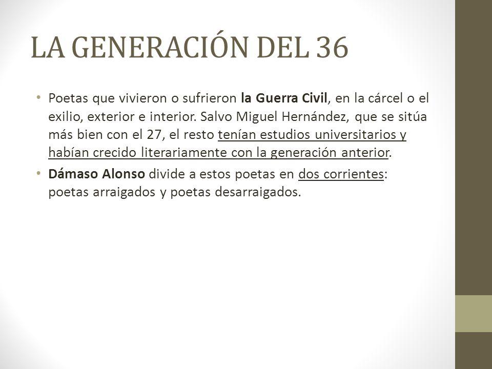 LA GENERACIÓN DEL 36
