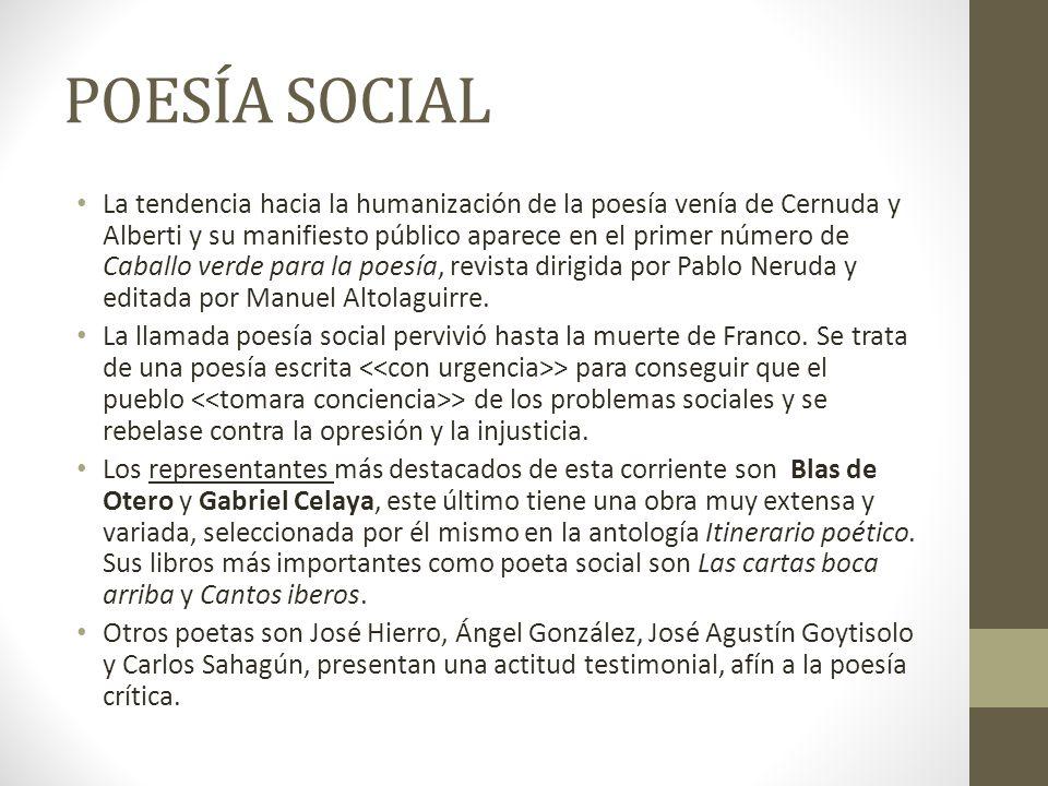 POESÍA SOCIAL