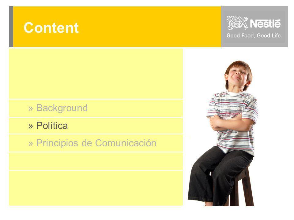 Content » Background » Política » Principios de Comunicación