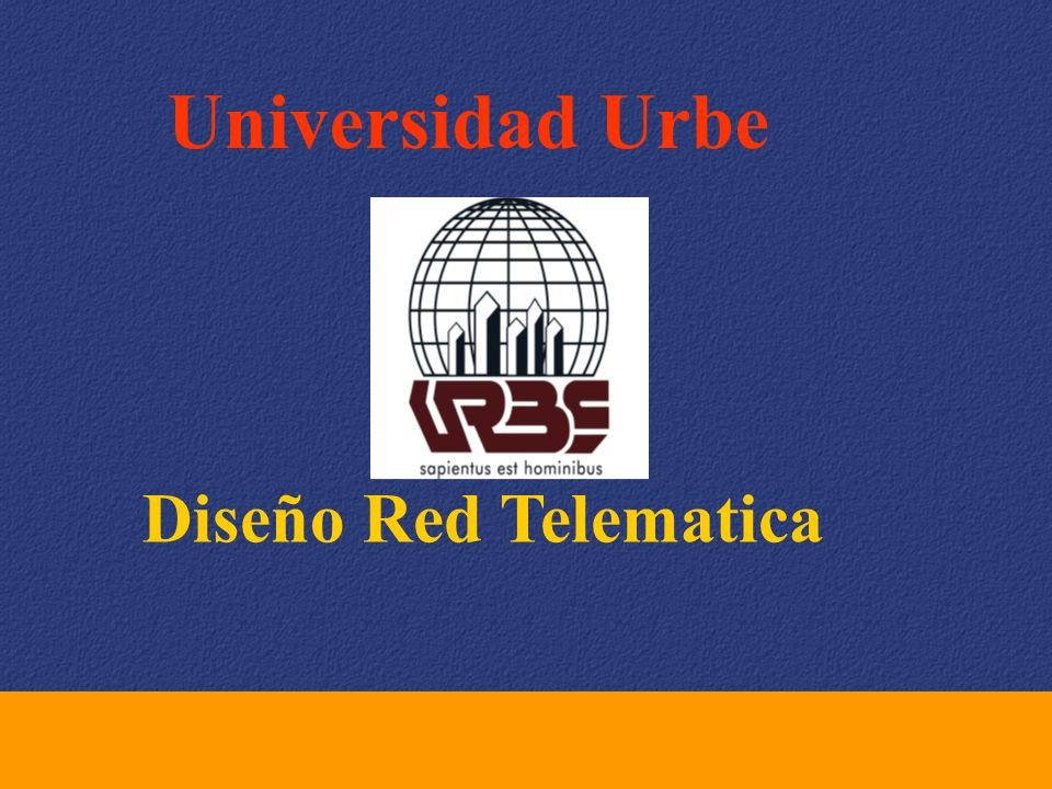 universidad urbe dise o red telematica ppt video online