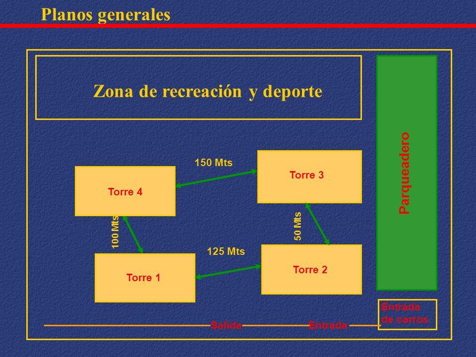 Zona de recreación y deporte