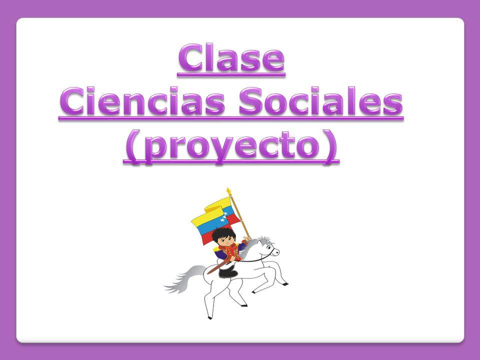 Clase Ciencias Sociales (proyecto)
