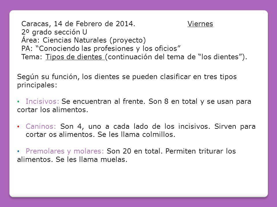 Caracas, 14 de Febrero de 2014. Viernes
