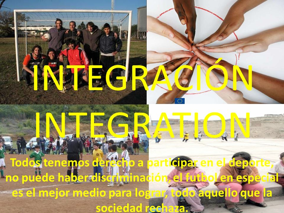 INTEGRACIÓN INTEGRATION