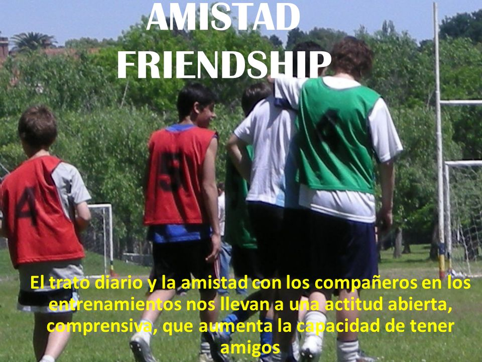 AMISTAD FRIENDSHIP