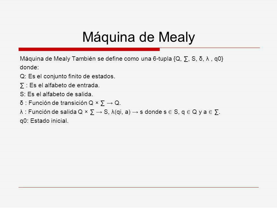 Máquina de Mealy