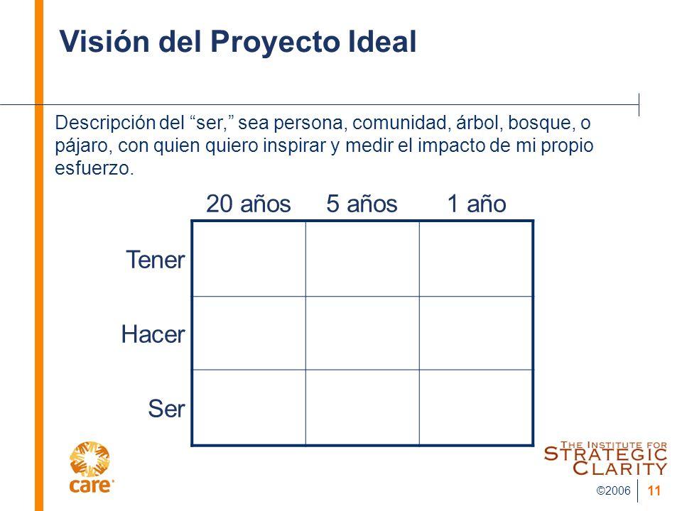 Visión del Proyecto Ideal