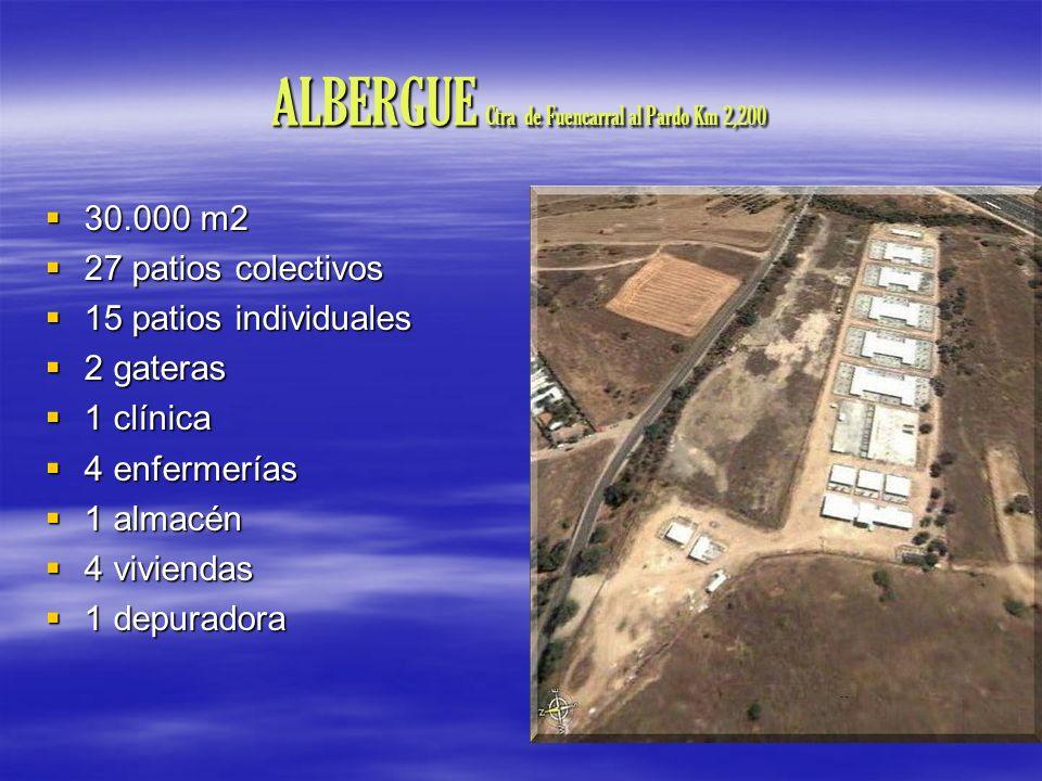 ALBERGUE Ctra de Fuencarral al Pardo Km 2,200