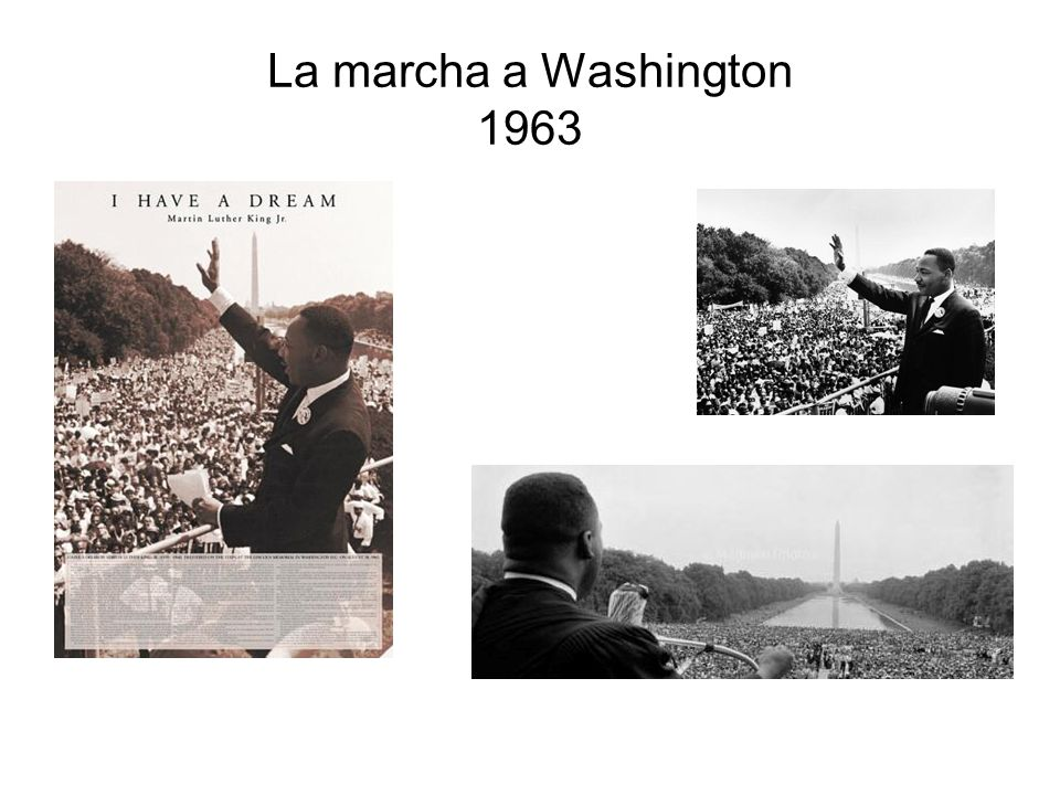 La marcha a Washington 1963