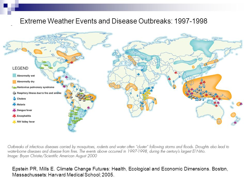 Extreme Weather Events and Disease Outbreaks: 1997-1998