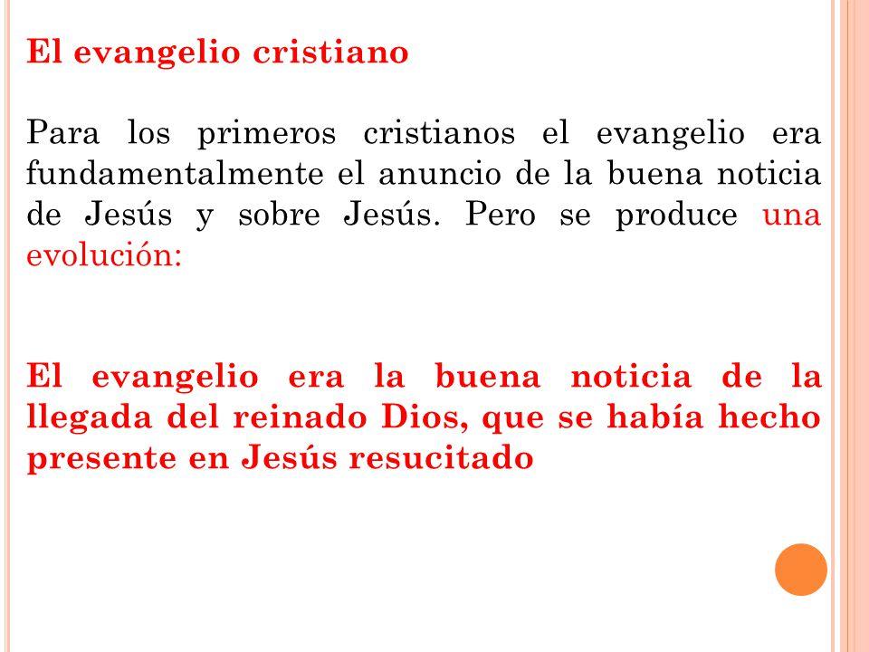 El evangelio cristiano