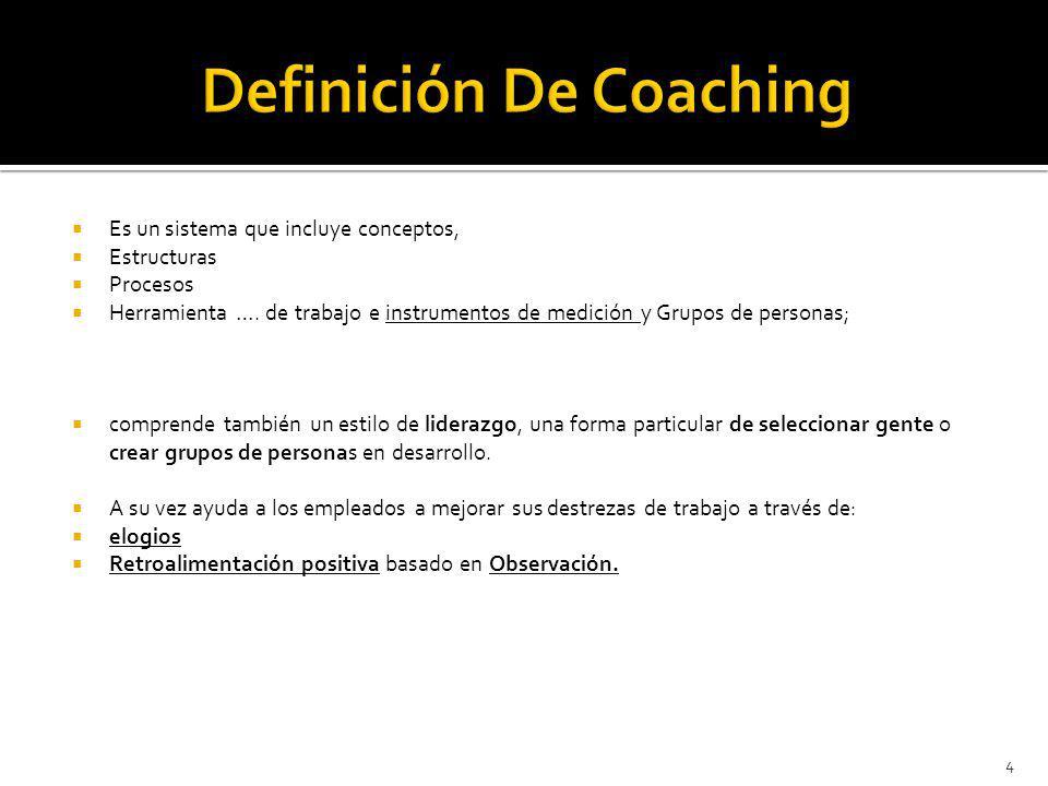 Definición De Coaching
