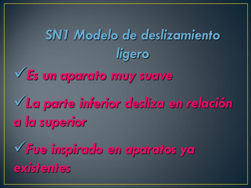 SN1 Modelo de deslizamiento ligero