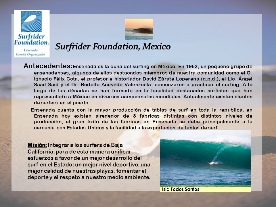 Surfrider Foundation, Mexico