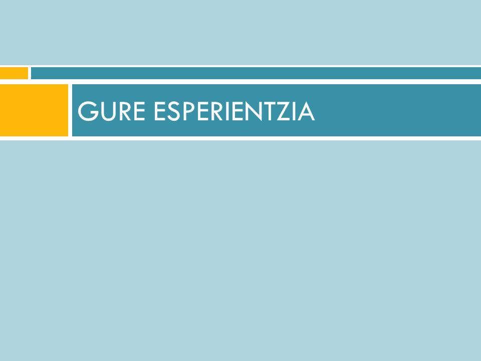 GURE ESPERIENTZIA