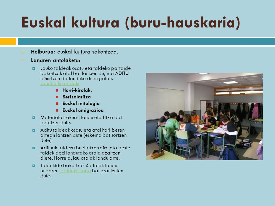 Euskal kultura (buru-hauskaria)
