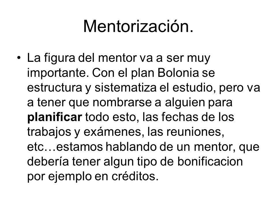 Mentorización.