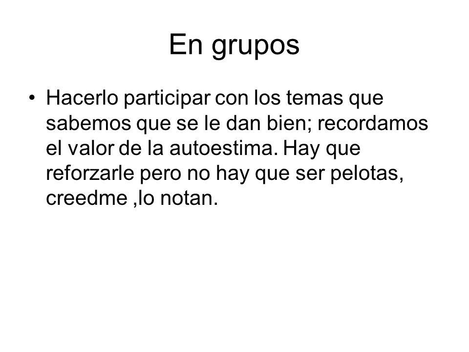 En grupos