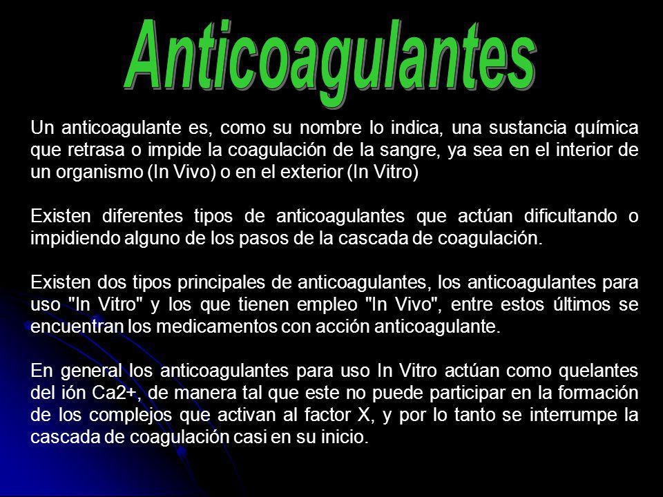 Anticoagulantes