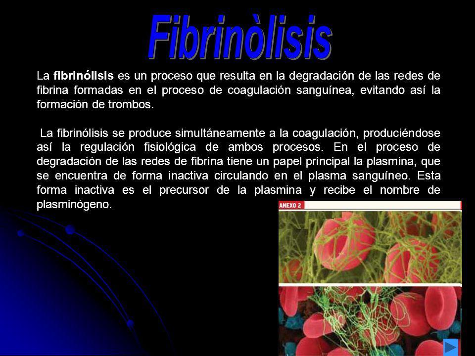 Fibrinòlisis