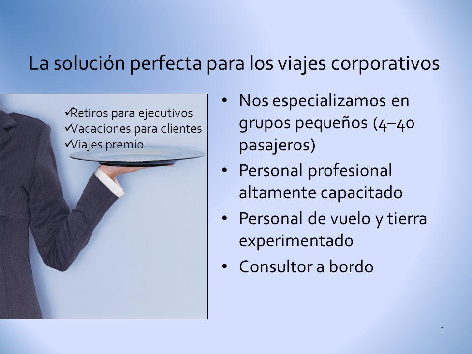 La solución perfecta para los viajes corporativos