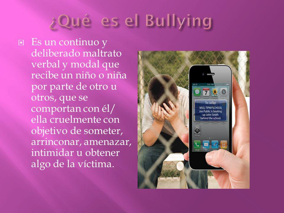 ¿Qué es el Bullying
