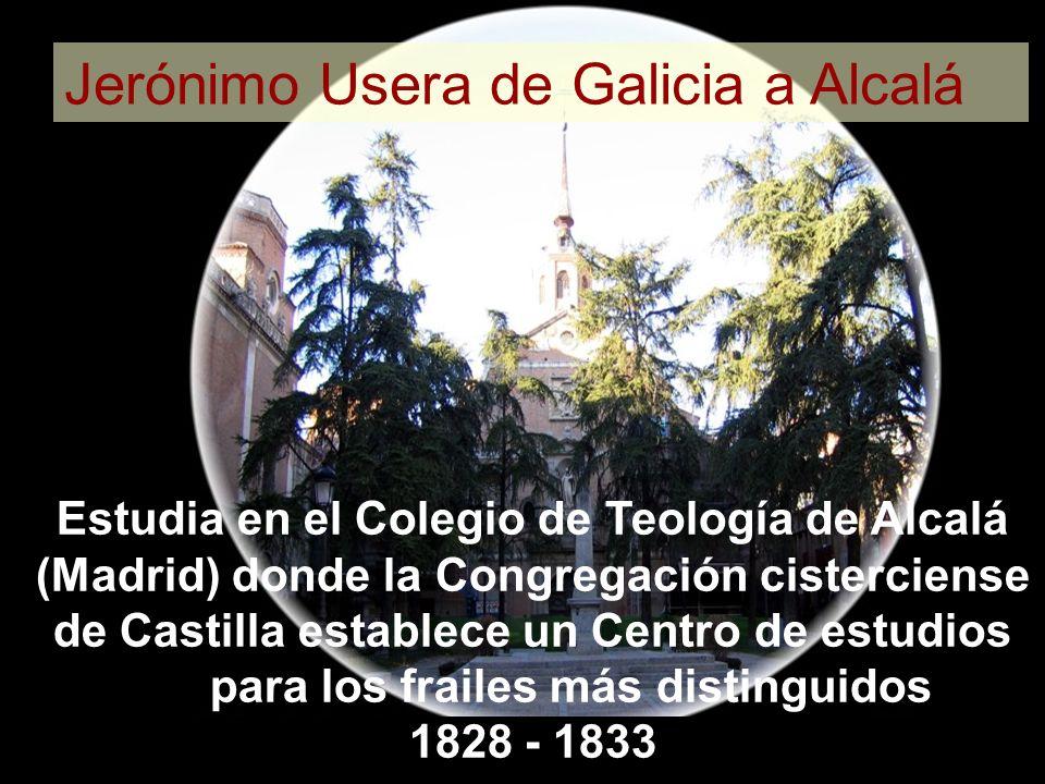 Jerónimo Usera de Galicia a Alcalá