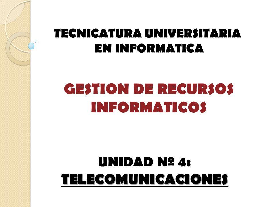 GESTION DE RECURSOS INFORMATICOS